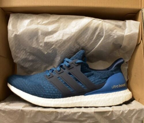 newest collection 3ae1d 68f66 Adidas Ultra Boost Petrol Night S82021 Blue Men in Box Size 11.5