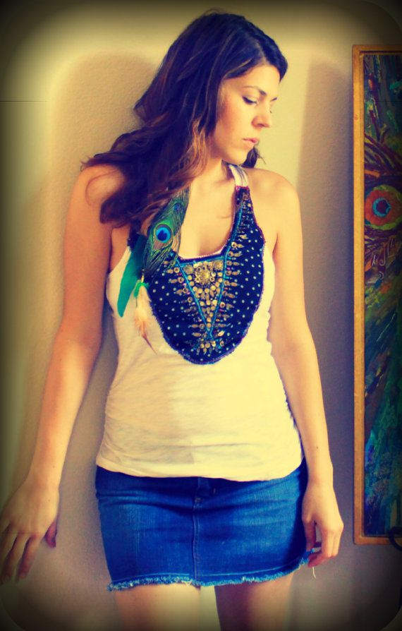 Bohemian Tank Top India by SweetLMichelle, $45.00