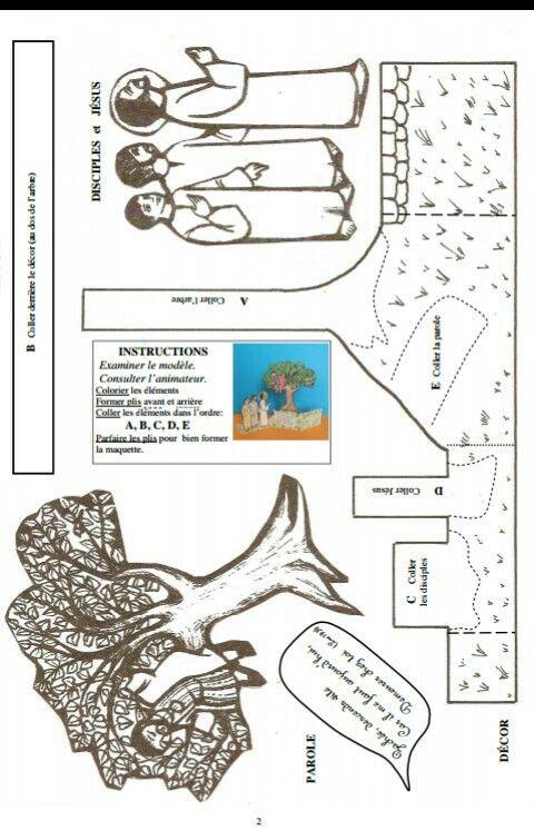 Zaqueo jsz vets g pinterest zacchaeus bible crafts - Artigianato per cristiani ...