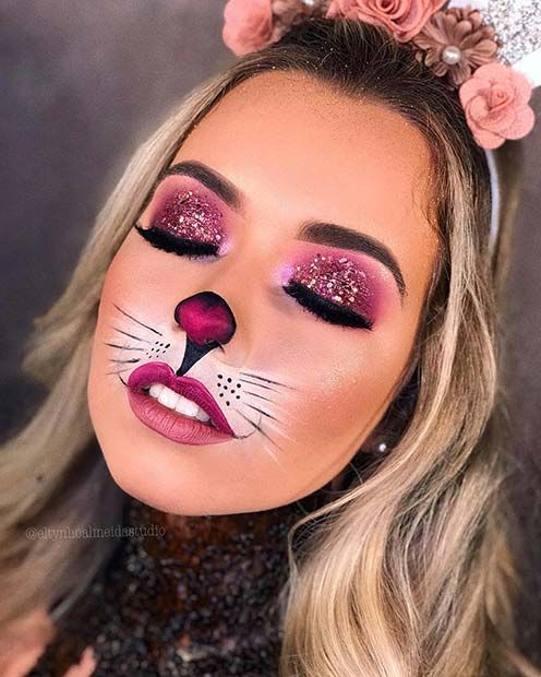 Photo of 23 Bunny Makeup Ideas for Halloween   Page 2 of 2   StayGlam