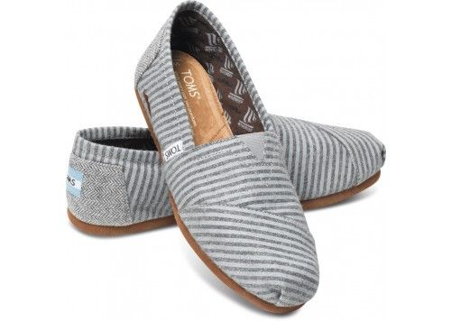 Movember Grey Stripe Wool Women's Classics