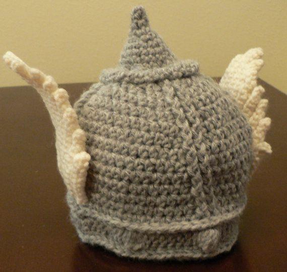 Crocheted Thor Hat Helmet | Crocheting | Pinterest | Gehäkelte ...