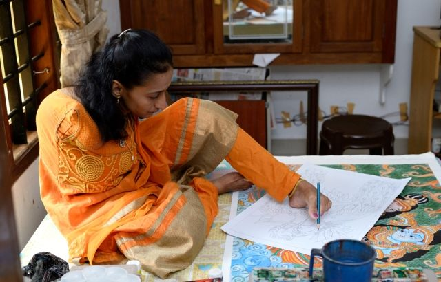 Swapna Augustine's Incredible journey with Paintings.
