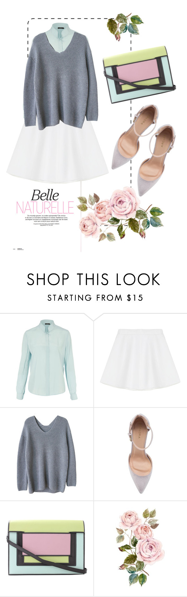 """mint is new blue. or whatever  ;-)"" by heartinplay ❤ liked on Polyvore featuring Paul Smith Black Label, RED Valentino, ZALORA, Pierre Hardy, women's clothing, women, female, woman, misses and juniors"