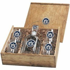 Auburn Tigers Capital Decanter Box Set by Heritage Pewter. $139.95. Auburn Decanter Set by Heritage Pewter