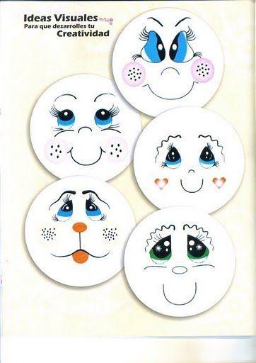 Pintar ojos en foami imagui goma eva pinterest - Materiales para pintar ...