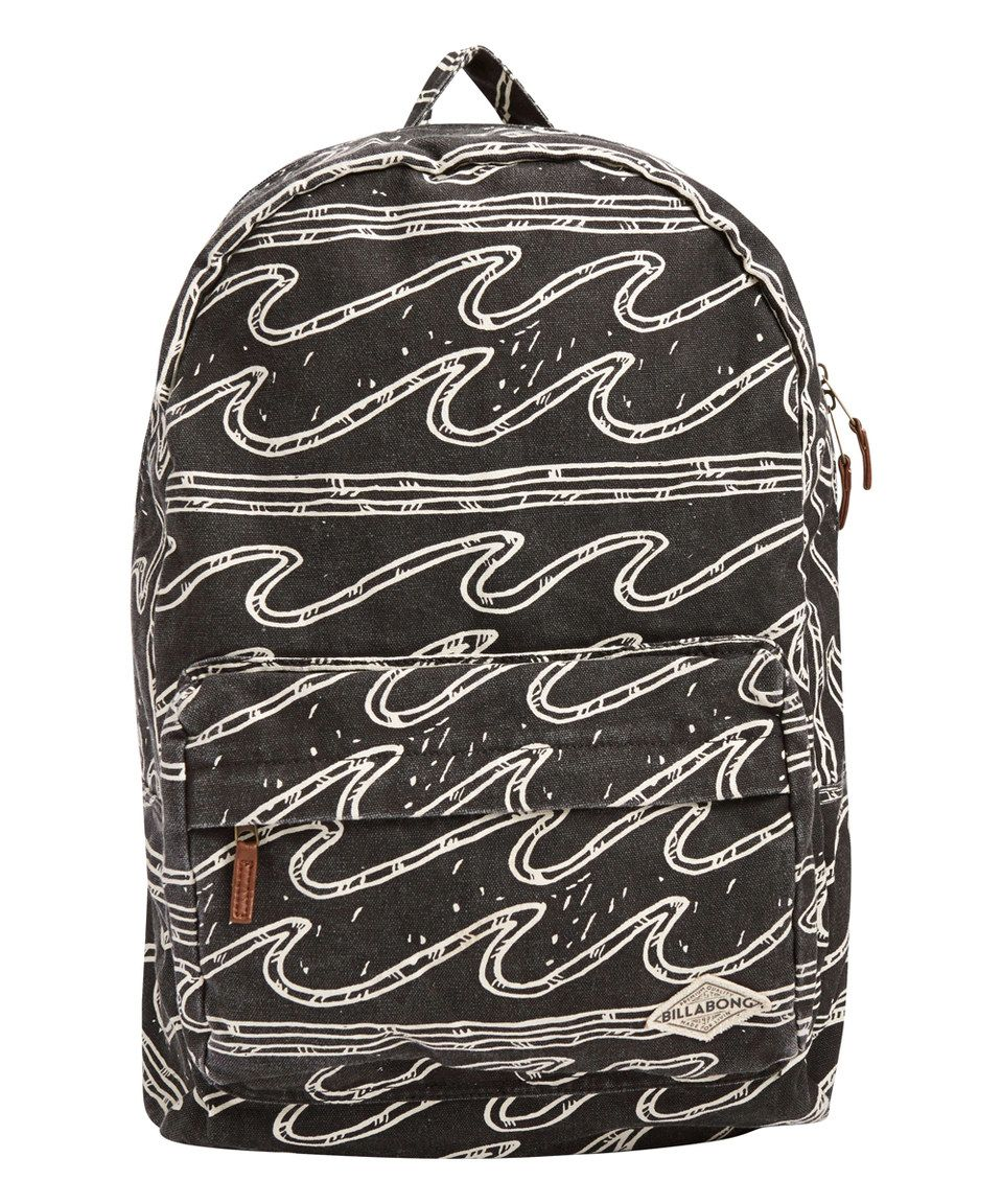 Black Sands Wave Hand Over Love Backpack by Billabong  zulily  zulilyfinds 4118e2aee2d
