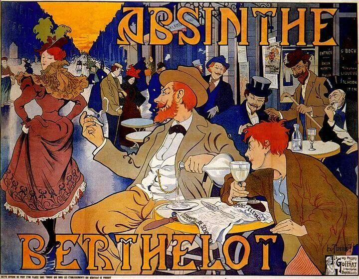 Absinthe Berthelot 1895