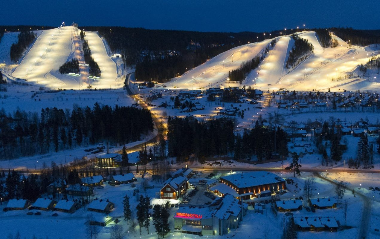 Himos Ski Jamsa Discovering Finland Skiing Finland
