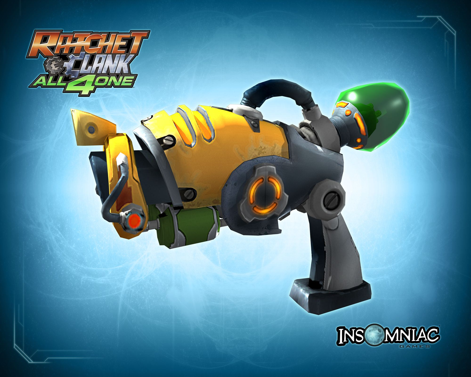 Ratchet And Clank Combuster Pistol