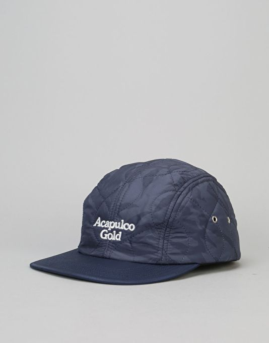 4e767938 Acapulco Gold Outland Quilted Sport 5 Panel Cap - Navy Camo | 5 ...