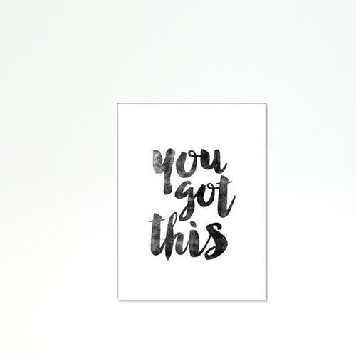 Motivated Type You Got This Textual Art on Wrapped Canvas | Canvases ...