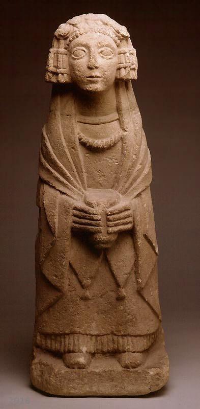 Dama Oferente Santuario Del Cerro De Los Santos Museo Arqueologico