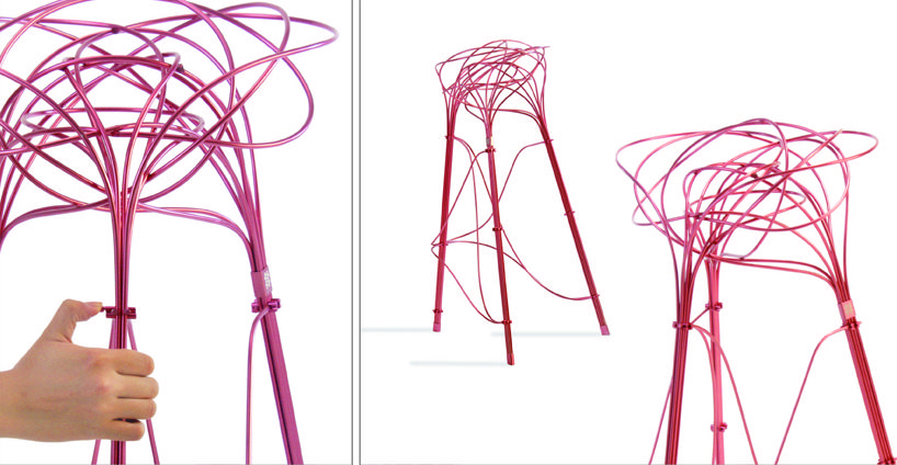 burr puzzle high stool by you-de chen and chin-hua lin