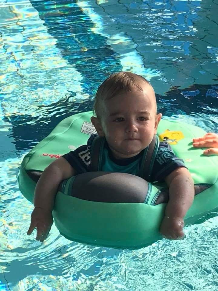 d513bed12f MamboFloat Baby Water Float - Swim Trainer (2 months - 2 Years) (2018) |  Babies! | Baby swimming, Floating in water, Baby pool