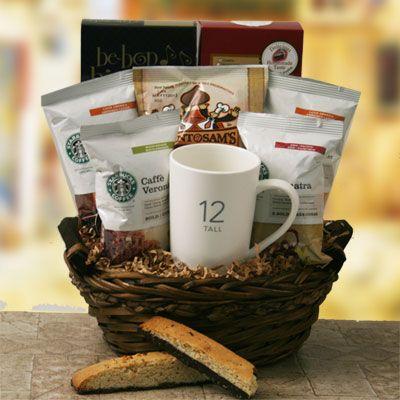 Starbucks Sensation Starbucks Gift Basket Gift Basket Ideas