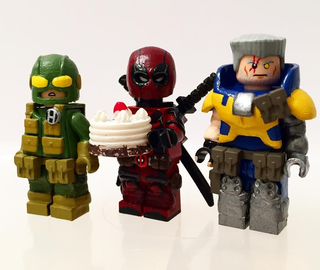 Fearsome Threesome (That came out wrong) #deadpool #lego #legomarvel ...