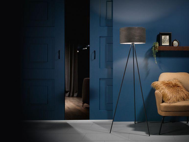 Livarno Lux Stehleuchte Mit Velour Bezug Inklusive Energiesparendem Led Leuchtmittel Lidl De In 2020 Led Leuchtmittel Energie Sparen Leuchtmittel