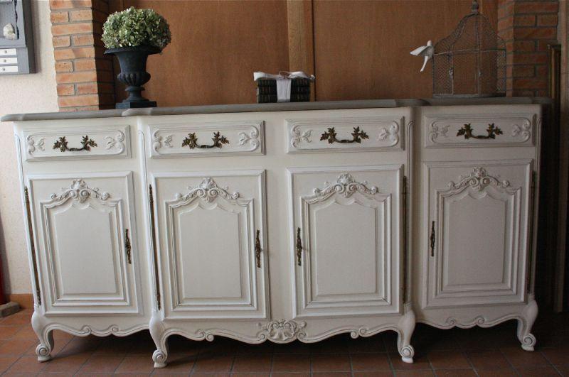 Relooking buffet Déco Pinterest Relooking, Meubles et Relooker - comment peindre un vieux meuble