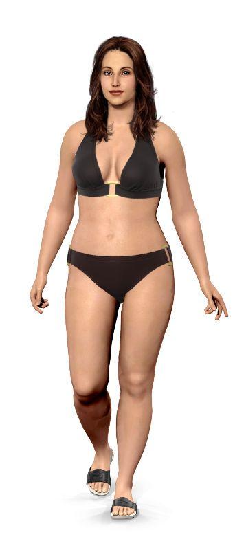 Interesting! Weight Loss Simulator for Women