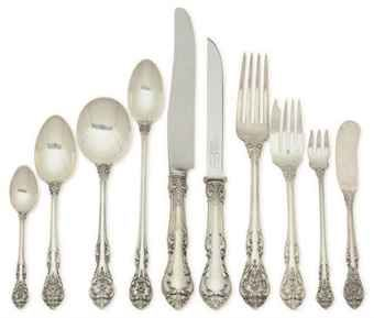 images of silverware patterns silver flatware part service in the