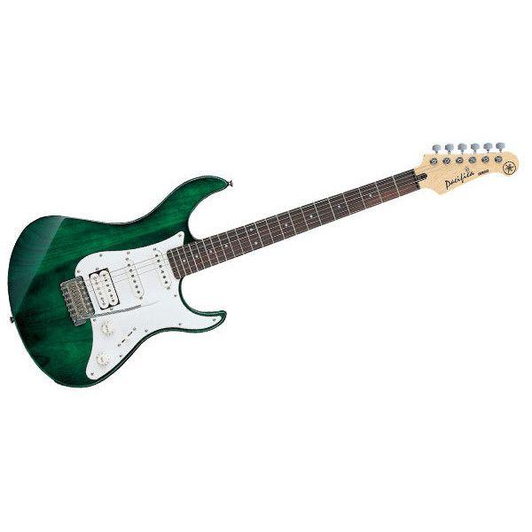 Image For Yamaha Pac112j Electric Guitar Translucent Green Electric Guitar Guitar Yamaha