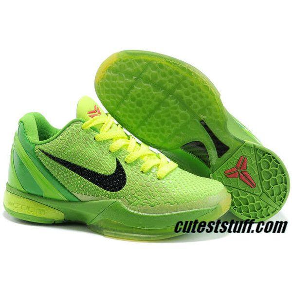 Nike Zoom Kobe 6 VI Grinch 429659-701 Size 9.5