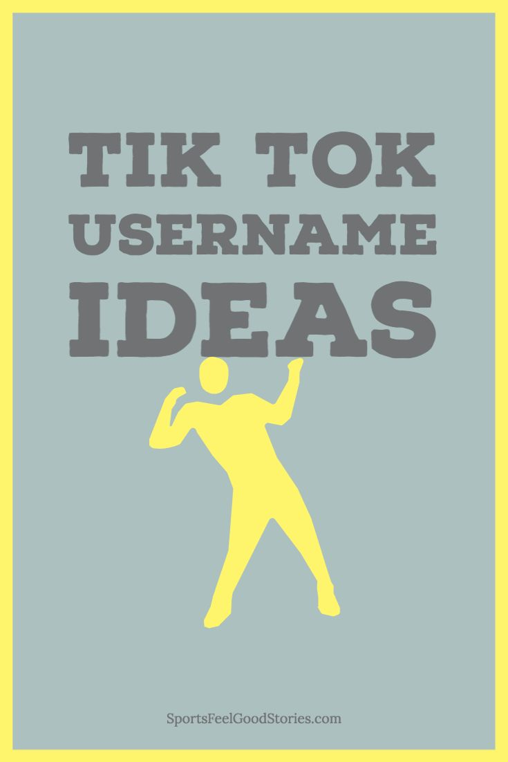 A great collection of tiktok username ideas for the fast