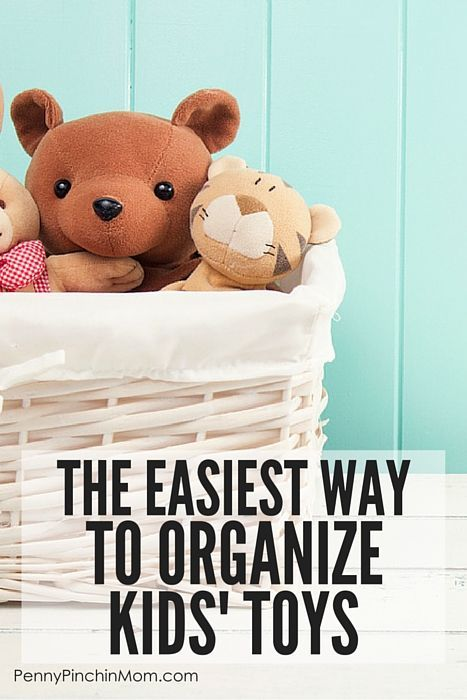 How to Organize Kids Toys -- Complete with a Free Checklist - bill organizer chart