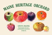 Buy a Maine Heritage Orchard apple poster to support the Maine Organic Farmers and Gardeners Association. http://www.mofgastore.org/product.sc?productId=189&categoryId=-1
