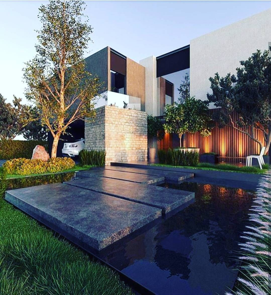 Modern Contemporaryhome Exterior Design: Pin By Jamara Haymore On HOUSES. Design & Architecture