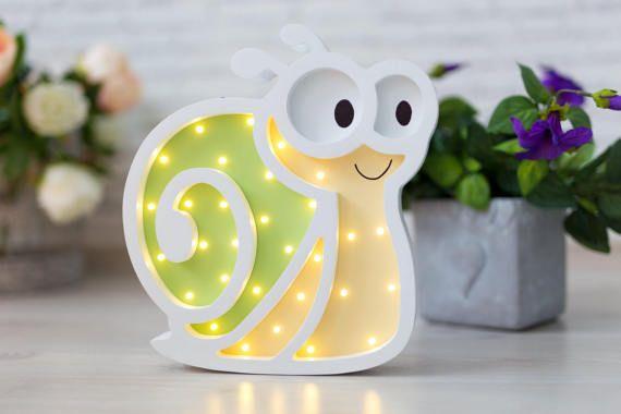 Babyzimmer Nightlight ~ Night light for baby nightlight snail gift for baby kids