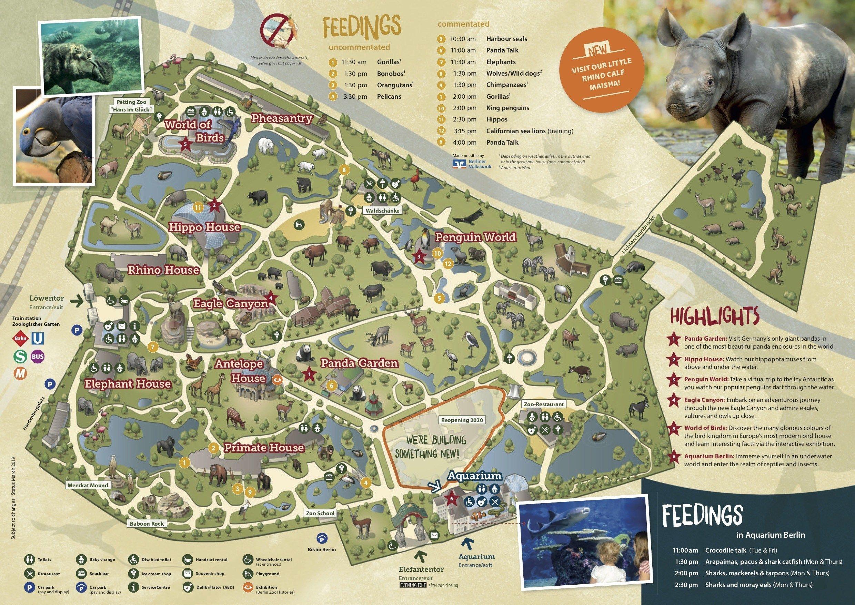 Berlin Zoo Map Zoo Map Zoo Map