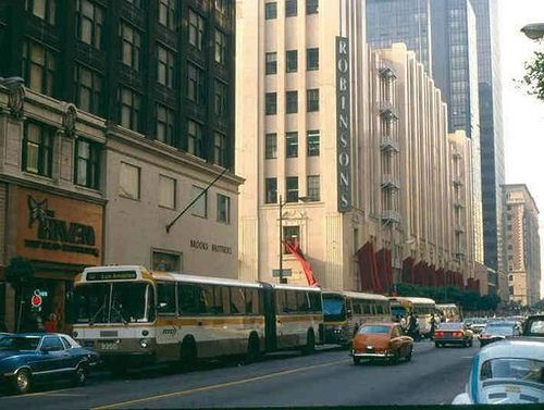 outlet on sale 100% quality detailed images Downtown Los Angeles' Seventh Street: Brooks Brothers (1962 ...