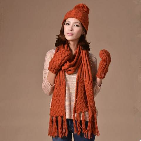 37a35304da9e1 Pin by BUYHATHATS LIMITED on Winter womens hat scarf and glove set ...