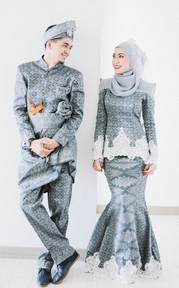songket wedding dress | Malay Wedding Dress | Pinterest | Wedding ...