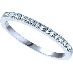 Ben Moss Jewellers 008 Carat TW 14k White Gold Diamond Wedding