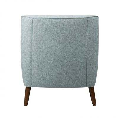 Best Modern Tufted Accent Chair Light Blue Homepop Tufted 400 x 300