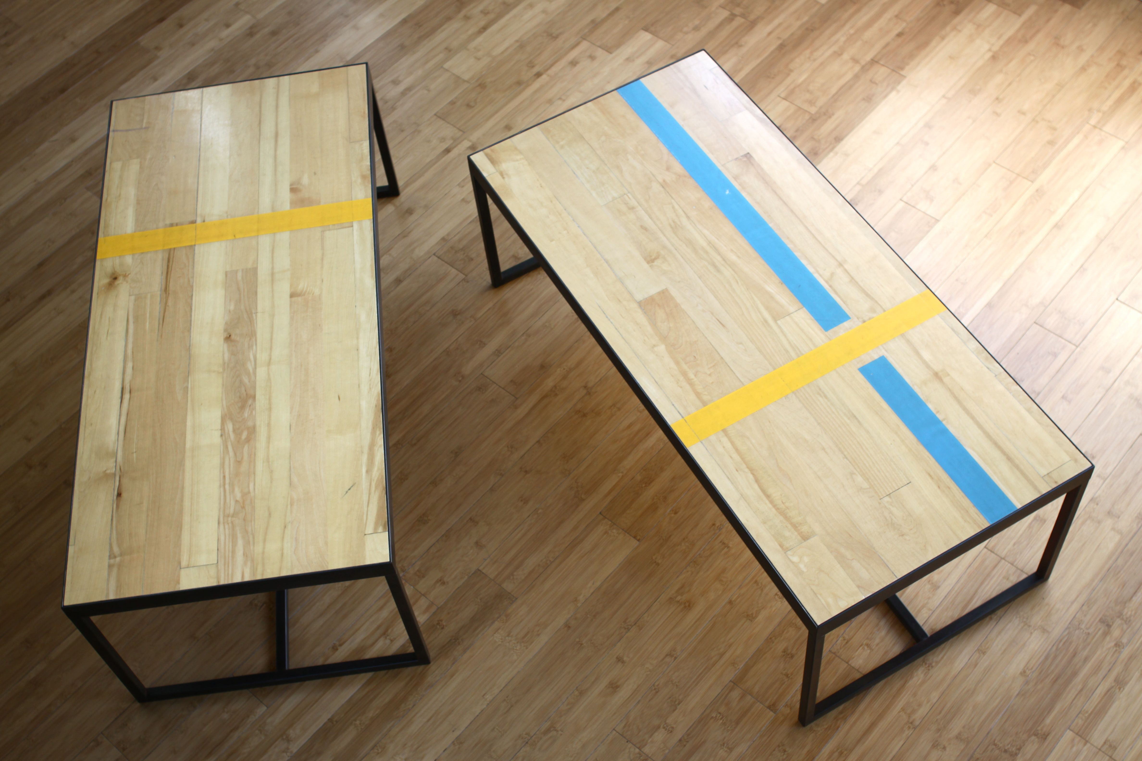Floor Tables Basketball Court Recycled Table Google Search Paper Fox Office