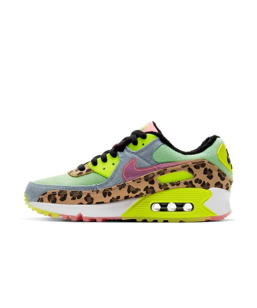 Nike Air Max 90 Lx Illusion Green Sunset Pulse Women S Shoe In 2020 Nike Shoes Women Nike Air Max 90 Nike Air Max