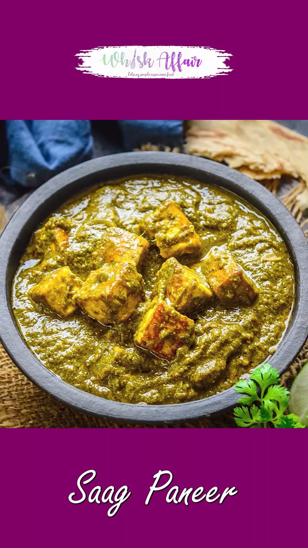 Saag Paneer Video Recipe
