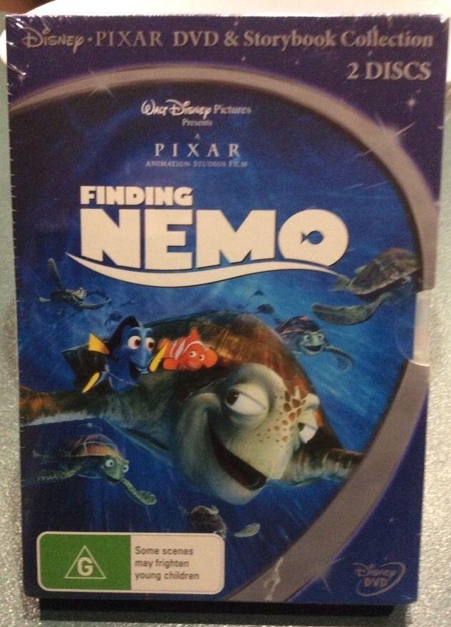 Brand New Movie Disney Pixar Dvd Storybook Collection