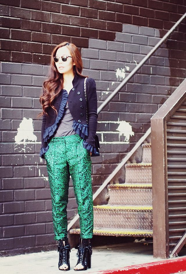 What to Wear in Fall 2014? Try the Chic Printed Styles - Pretty Designs