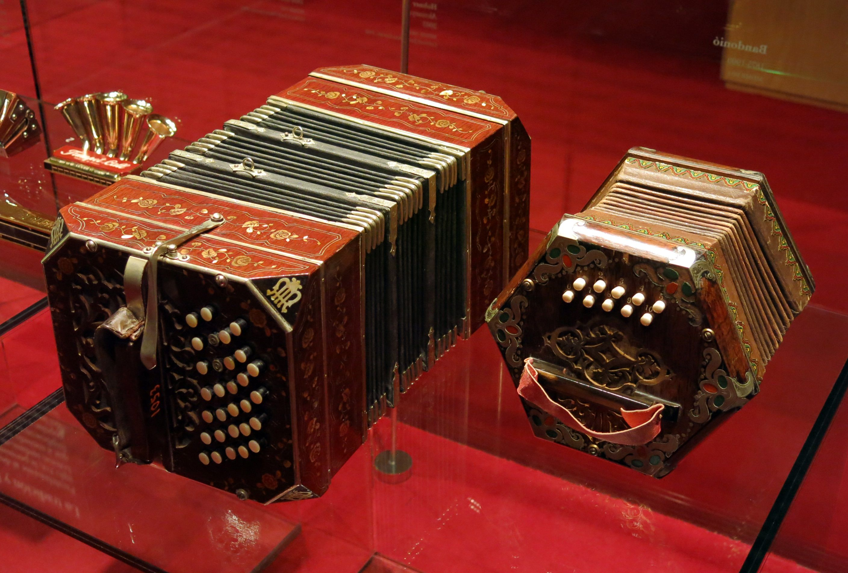 Bandoneon & Concertina, Music Museum in Barcelona