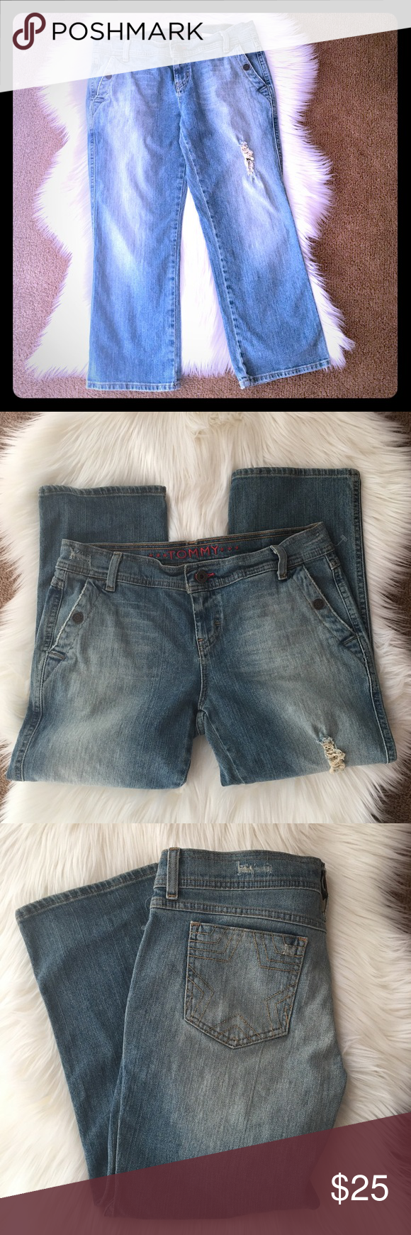 ✨🌟TOMMY Jean ✨🌟 Size 9 ✨🌟 ✨🌟 Excellent Condition! Like new!! 🌟✨ Tommy Hilfiger Jeans Ankle & Cropped