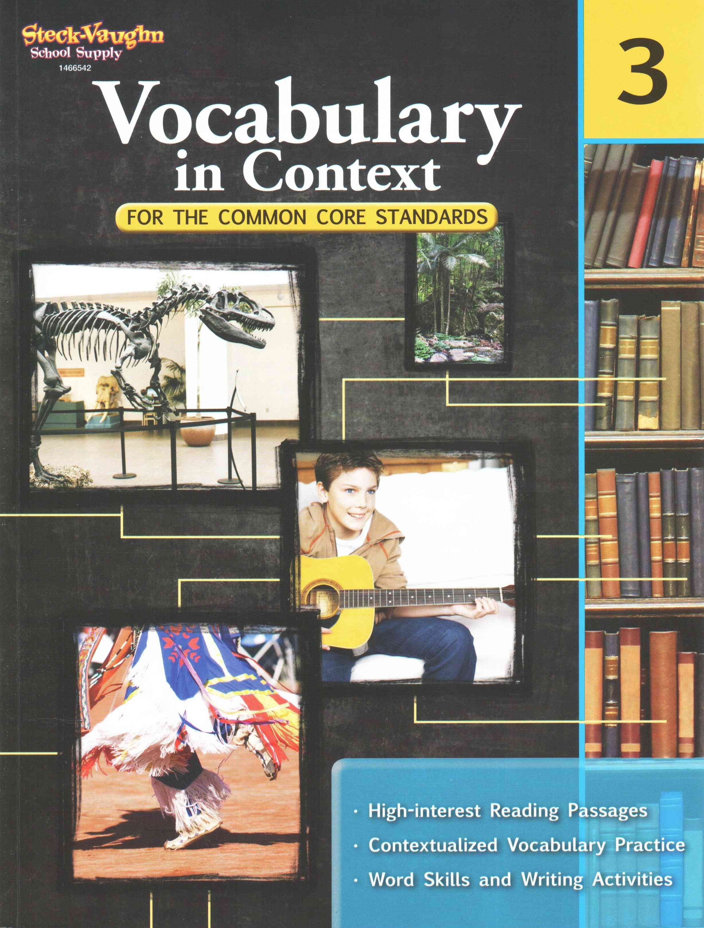 Vocabulary In Context For The Common Core Standards Grade