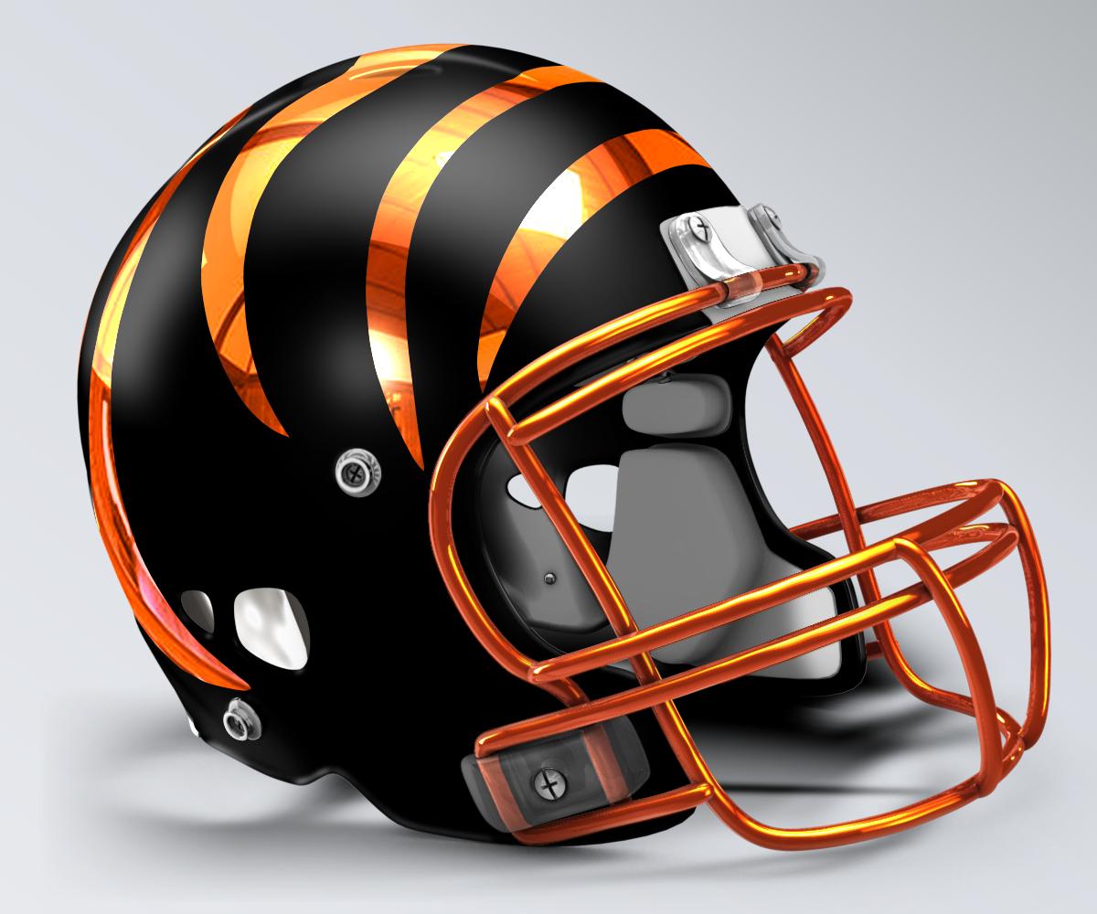 Cincinnati Bengals Concept Helmet 3 Cool Football Helmets