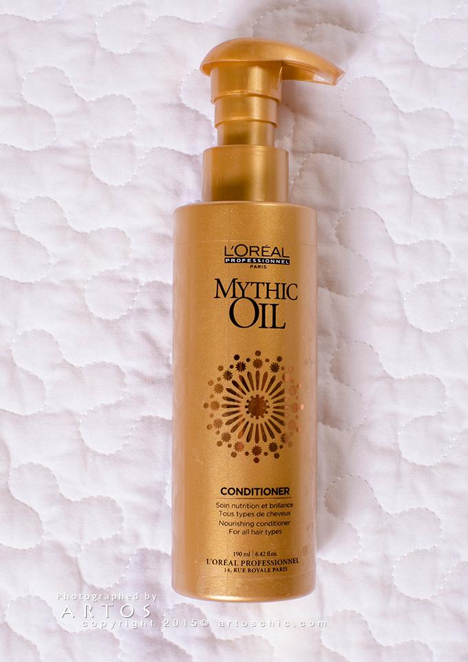 L Oreal Professionnel Mythic Oil تجربتي مع مجموعة Mythic Oil من لوريال بروفيشنال للعناية بالشعر حيل Nourishing Conditioner Oil Conditioner Hand Soap Bottle