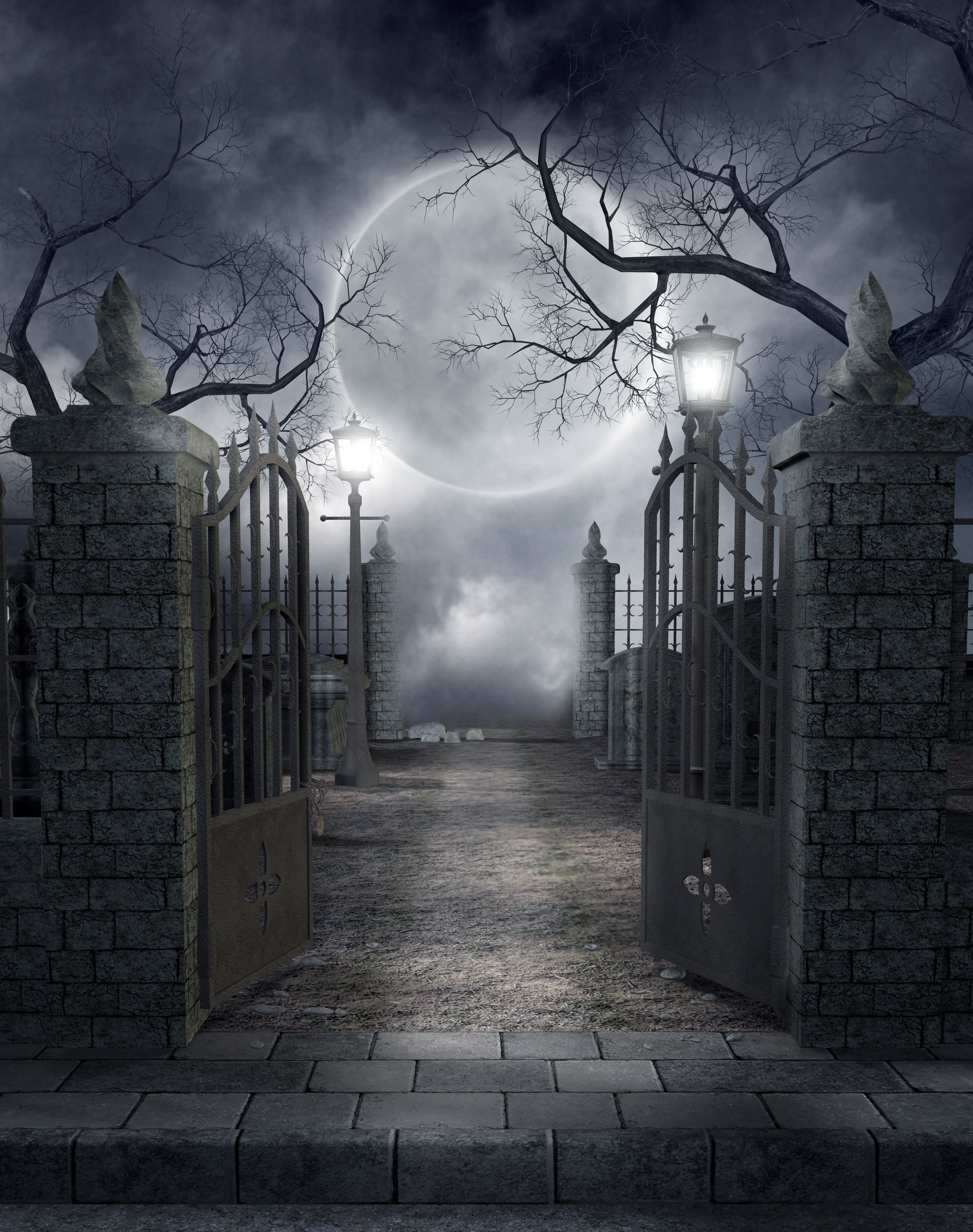 Spooky Cemetery | The Eve Of... | Death | Pinterest ...