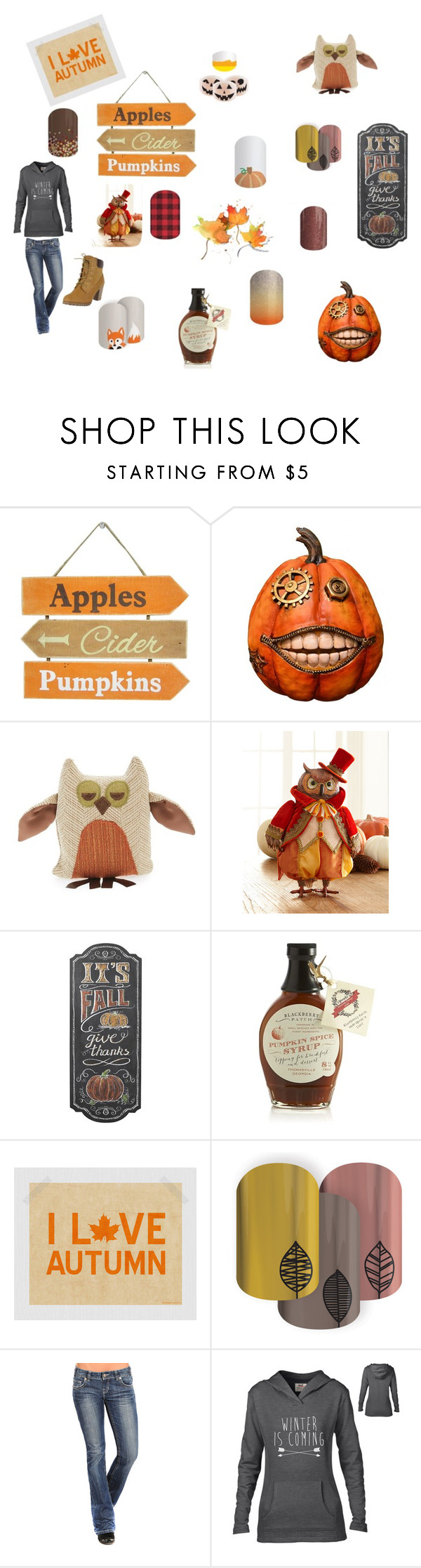Autumn by conniepatterson on Polyvore featuring Fantastic Craft, Woof & Poof, Crate and Barrel and Katherine's Collection